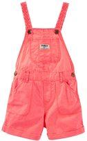 Osh Kosh Toddler Girl Braided Strap Shortalls
