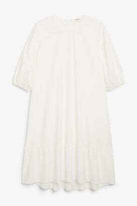 Monki Cotton midi dress