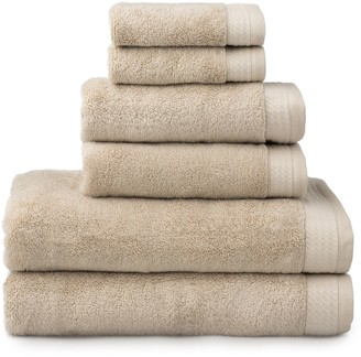 The Welhome Madison 6-piece Bath Towel Set