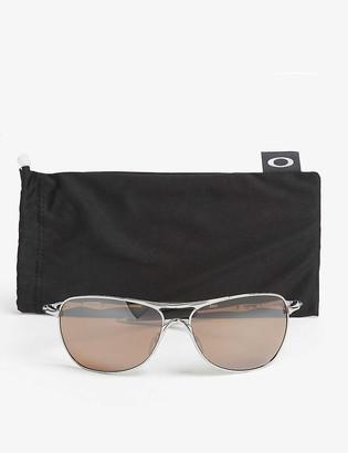 Oakley OO4060 Chrome square sunglasses