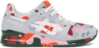 Comme des Garçons Shirt Multicolor Asics Edition GEL- Lyte III Sneakers