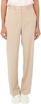 Maje Wool Blend Trousers