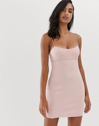 Bec & Bridge Dominique mini dress-Pink