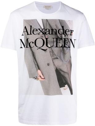 Alexander McQueen graphic-print T-shirt