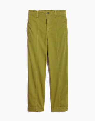 Madewell Seamed Pull-On Tapered Pants