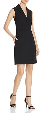 HUGO BOSS Diloise Sleeveless Tuxedo Dress