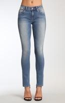 Mavi Jeans Adriana Super Skinny In Mid Destroyed Tribeca