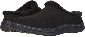 DREW Palmer (Black Microsuede) Men's Shoes