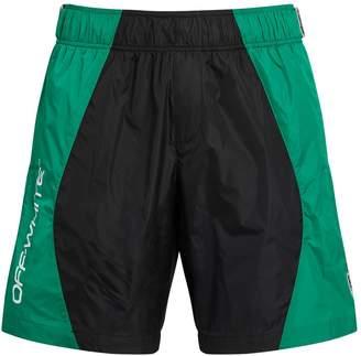 Off-White Off White Colour Block Logo Swim Shorts