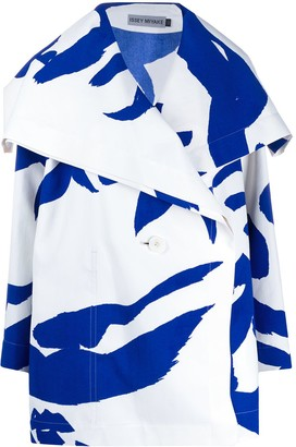 Issey Miyake Abstract Deconstructed Coat