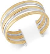 Lucky Brand Two-Tone Multi-Row Cuff Bracelet