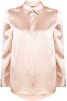 ADAM by Adam Lippes satin buttoned shirt
