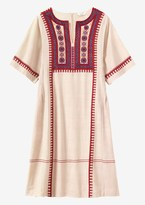 Toast Embroidered Kaftan Dress