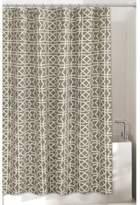 Bed Bath & Beyond Lattice 72-Inch x 96-Inch Shower Curtain in Grey