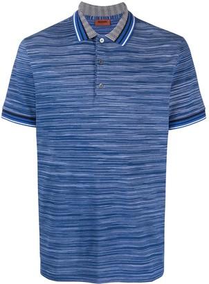 Missoni Embroidered Polo Shirt
