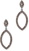 New York & Co. Pave Oval Drop Earring