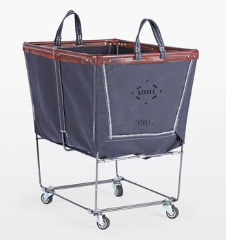 Rejuvenation Steele Canvas 3 Bushel Laundry Bin