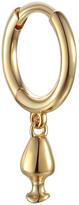 Pamela Love Vessel Huggie Hoop Single Earring - Yellow Gold