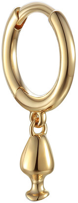 Pamela Love Vessel Huggie Hoop Single Earring - Yellow Gold
