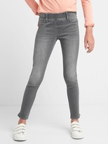 Gap High stretch ankle slit jeggings