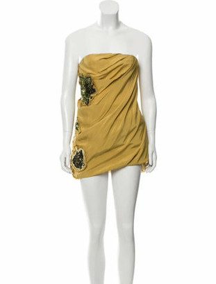 Matthew Williamson Silk Mini Dress w/ Tags