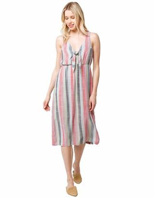 RVCA Women's Flossie Woven MIDI Dress
