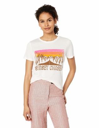 Miss Me Women's Sunset Graphic Tee Shirt