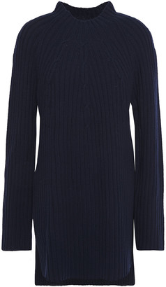 By Malene Birger Ribbed Wool-blend Sweater