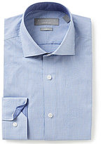 Perry Ellis Non-Iron Stretch Slim-Fit Spread-Collar Checked Paisley Dress Shirt