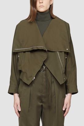 3.1 Phillip Lim Exaggerated Collar Jacket