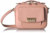 Zac Posen Earthette Small Box Bag Rose Cloud