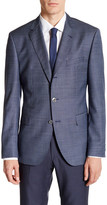 HUGO BOSS Johnston Two Button Notch Lapel Wool Jacket