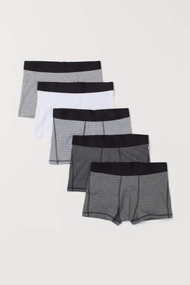 H&M 5-pack Short Boxer Shorts - Black