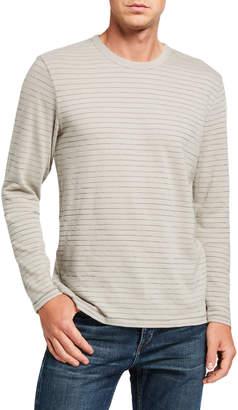 Rag & Bone Men's Railroad Striped Long-Sleeve T-Shirt