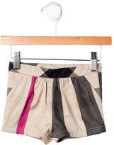 Burberry Girls' Supernova Check Shorts w/ Tags