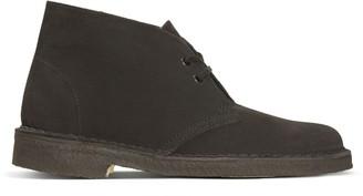 Clarks Women's Desert Boots Black (Black) 3 UK(35.5 EU)