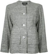 Isabel Marant Donegal jacket - women - Silk/Cotton/Linen/Flax/Polyester - 36