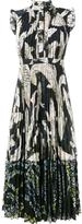 Erdem koi fish print dress - women - Silk/Polyester - 8