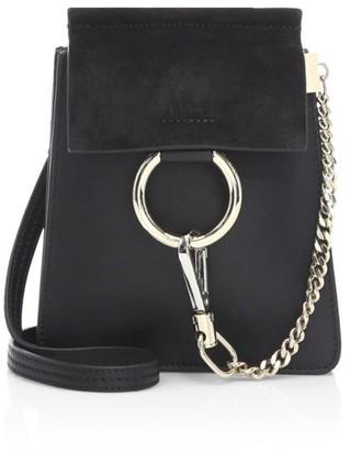Chloé Mini Faye Leather Bracelet Bag