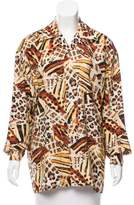 Equipment Silk Abstract Print Top