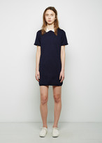 MAISON KITSUNÉ Contrast Collar Openwork Dress