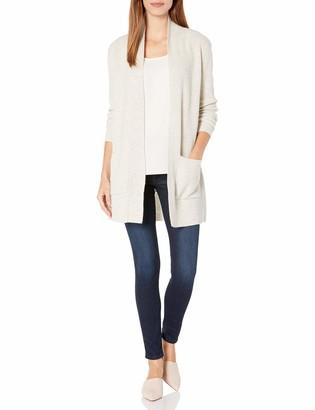 Pendleton Women's Merino/Cashmere Rib Cardigan Sweater