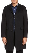 Burberry Men's Hawksley Tailored Wool & Cashmere Single Breasted Coat