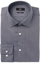HUGO BOSS Marley Herringbone Sharp Fit Dress Shirt