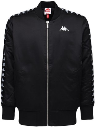 Kappa Insulated Nylon Bomber Jacket