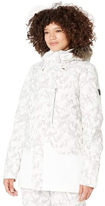 O'Neill Zeolite Jacket (Powder White) Women's Coat