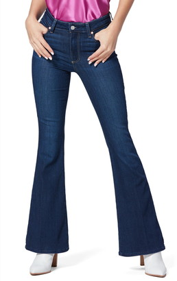 Paige Canyon High Waist Flare Jeans