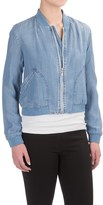 Workshop Republic Clothing Crosshatch Jacket - TENCEL® (For Women)