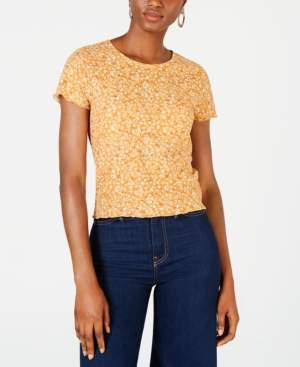 Self Esteem Juniors' Waffle-Knit Baby T-Shirt