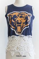 Karen Zambos Chicago Bears Vintage Tee